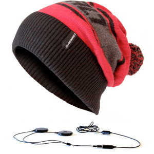 AERIAL7 Mayrhofen Beanie Red and Black [54440]