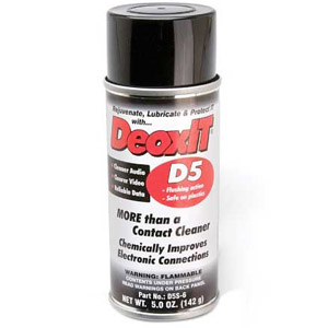 Deoxit Contact Cleaner D5S-6 Spray