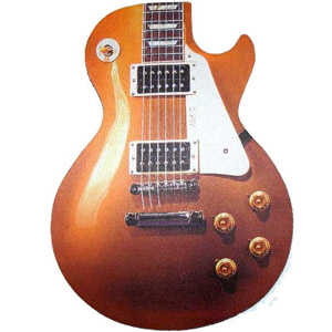 Harris Gold Top Les Paul Mouse Pad [MPADLP_94285]