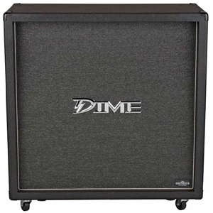 Dime Amplification Dimebag 412 Straight Cabinet Black [D412 ST]