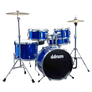 Ddrums D1 Junior Drum Set - Police Blue
