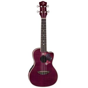 Luna Guitars Concert Flora Ukulele