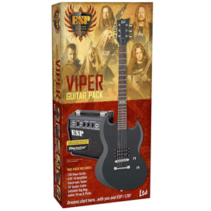 ESP LTD Viper Electric Guitar Pack [LVIPERPACKBLKS]