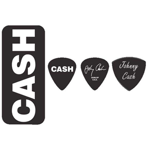 Dunlop Johnny Cash - Bold Pick Tin [JCPT04H]