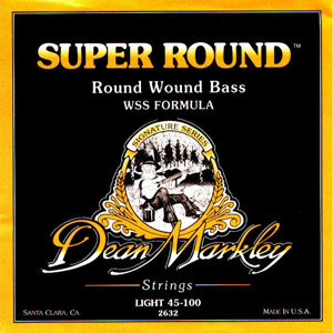 Dean Markley 2632 Super Round Bass Strings [2632]