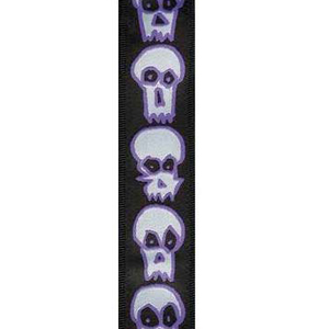 Planet Waves Joe Satriani Guitar Strap - Skulls