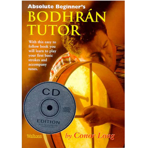 Hudson Music Bodhran Tutor - Absolute Beginner's Book and CD [LBTB]