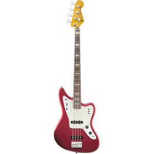 Fender Deluxe Jaguar® Bass Candy Apple Red