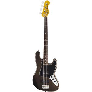 Modern Player Jazz Bass® Black Transparent