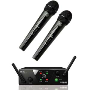 Akg WMS40 Mini2 Vocal Set US45 A/C