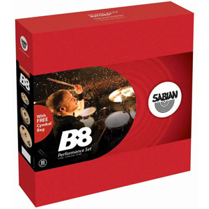 Sabian 45003-NB B8 Performance Set [45003NB]