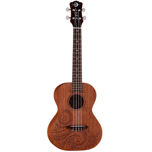 Luna Guitars Mahogany Tattoo Tenor