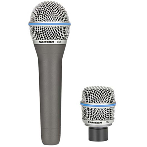 Samson CS Series Dynamic Microphone Package [SACSMIC]