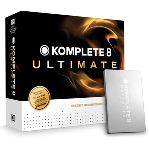 Native Instruments Komplete 8 Ultimate EDU 5-Pack [21636]