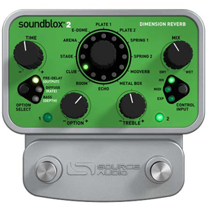 Source Audio Soundblox2 Dimension Reverb [SA225]