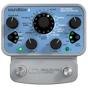 Source Audio Soundblox 2 Multiwave Bass Distortion [SA221]