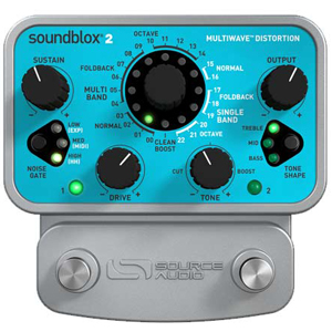 Source Audio Soundblox 2 Multiwave Distortion [SA220]