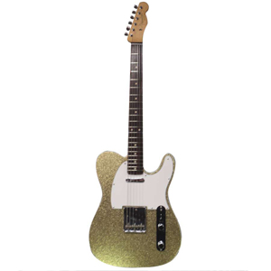Fender 1960 Telecaster Custom CC Gold Sparkle