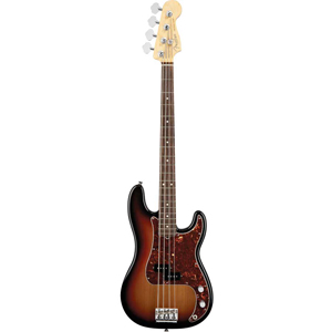 American Standard Precision Bass V - 3-Color Sunburst with Case - Rosewood