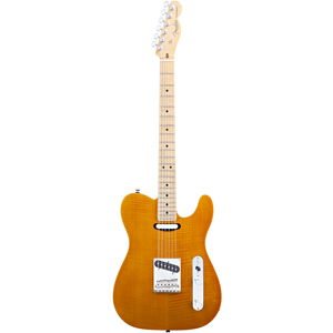 Fender Select Carved Maple Top Telecaster® Amber [0170305720]