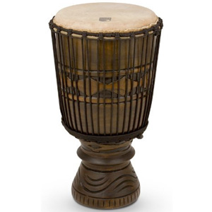 Toca Bougarabou African Mask Drum [TBD-12AM]