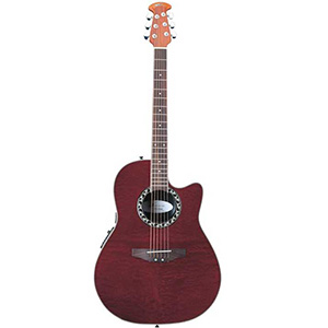 Applause AE128 Red Figured Mahogany [AE128-RFMH]