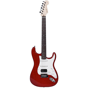 Custom Deluxe Stratocaster® Candy Red