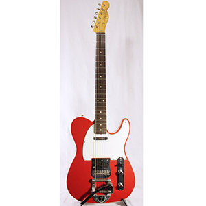 Custom Shop Limited Telecaster Fiesta Red
