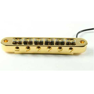 Fishman Powerbridge Tune-o-matic - Gold [FISHPBRIDGETUNEG]