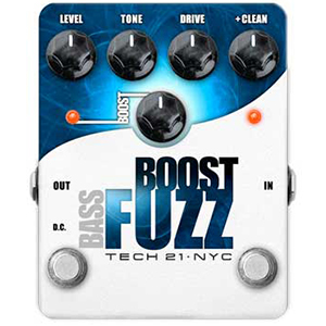 Tech21 Boost Fuzz Bass [BST-BF]