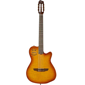 Godin ACS-SA/USB - Nylon Lightburst Flame Blemished [034017]