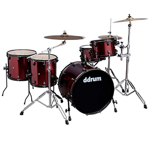 Ddrums Journeyman Player 22 Red Sparkle