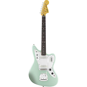 Vintage Modified Jaguar Surf Green