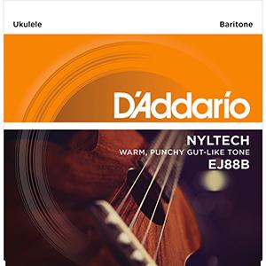 Daddario EJ88B Nyltech Ukulele Baritone Strings