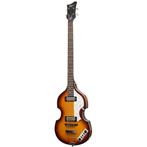 Hofner Violin Bass - Ignition Sunburst Bass - Sunburst w/ Case