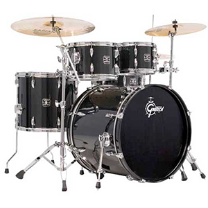 Gretsch Drums Energy Black [GE-E8256PKBLK]