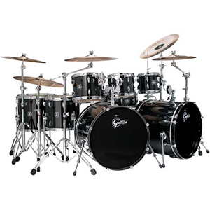 Gretsch Drums Energy Black 8-Piece [GE-E2828-BLK]