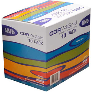 HHB CDR-74 Gold 10 Pack [HHB-CDR74GOLD ]