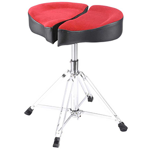 Ahead Spinal-G Drum Throne - Red [SPG-R]