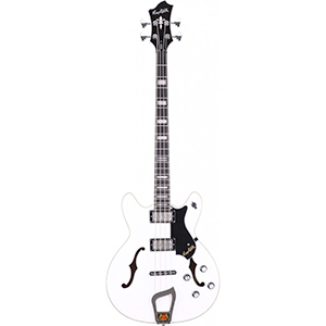 Hagstrom Viking Bass White