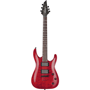 Jackson SLATTXMGQ3-6 Soloist Transparent Red