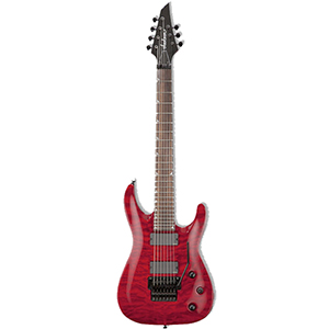 Jackson SLATXMGQ3-7 Soloist Transparent Red - Demo [2916271590]