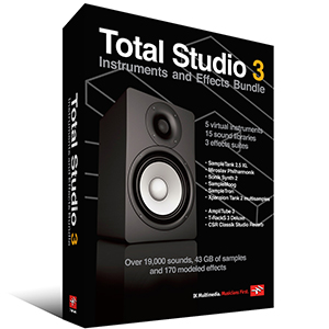 Ik Multimedia Total Studio 3 Bundle [TOTALSTUDIO3]