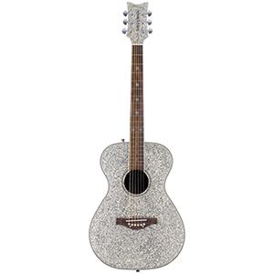 Daisy Rock Pixie Acoustic - Silver Sparkle
