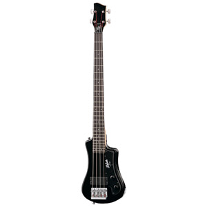 Hofner Shorty Bass Guitar Black [HCT-SHB-BK-O]