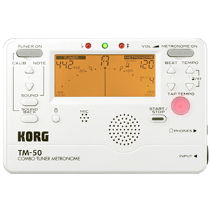 Korg TM50 Pearl White [TM50PW]