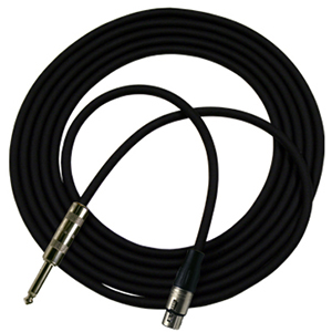 Rapco N1HZ 20 Ft Hi-Z Microphone Cable [N1HZ-20]