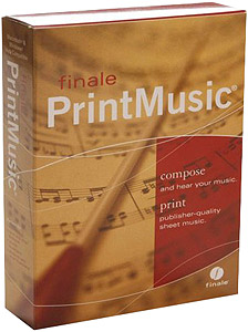 Finale Print Music