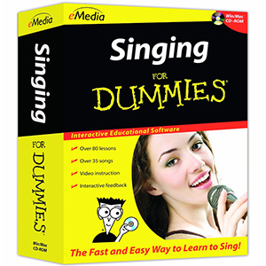eMedia Singing For Dummies [FD08111]