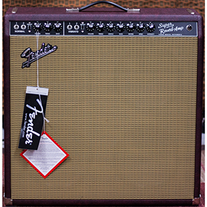 Fender FSR 65 Super Reverb Burgundy Wheat [0217600613]